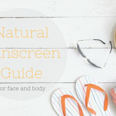 Natural Sunscreen Guide feature