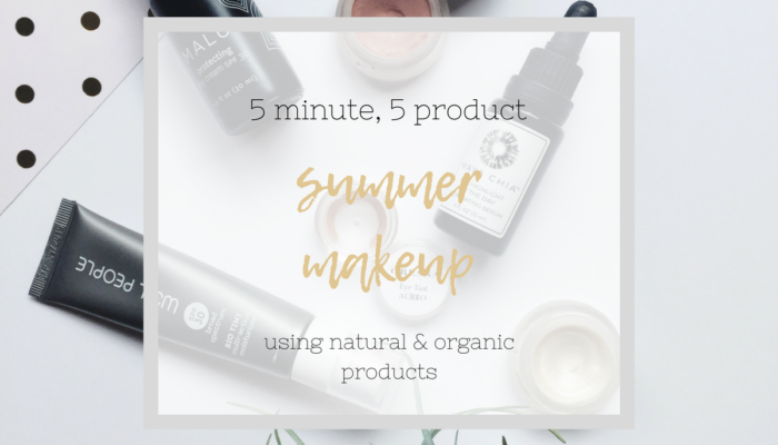 5 Minute, 5 Product Glowing Summer Makeup